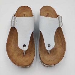 Bio conny sandaler i hvid fra Haflinger