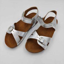 Bio Fritzi sandaler fra Haflinger sølv