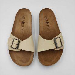 Bio gina sandaler i beige fra Haflinger