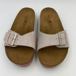 Bio gina sandaler i rosa fra Haflinger