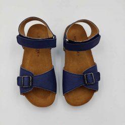 Bio Max sandaler fra haflinger i havblå