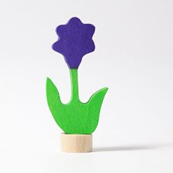 Dekorations blomst i lilla fra Grimms