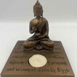 Buddha lysholder