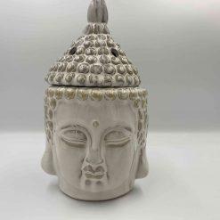 Duftlampe Buddha hvid