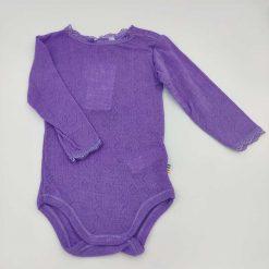 Joha body i merinould/silke i lavendel