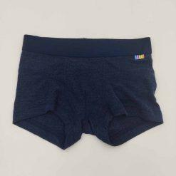 Joha boxershorts i uld/silke mørkeblå