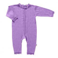 Joha heldragt i merinould/silke i lavendel