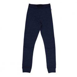 Leggings i merinould/silke fra Joha mørkeblå