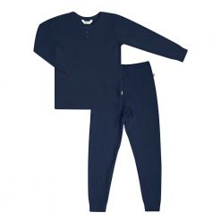 Pyjamas sæt i bambus fra Joha mørkeblå
