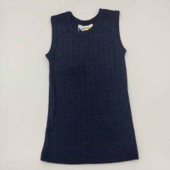 Joha undertrøje i uld/silke mørkeblå