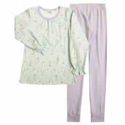 Pyjamas øko bomuld med flamingoer fra Joha