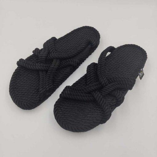 Slip on sandaler med sål fra Nomadic State of Mind i sort