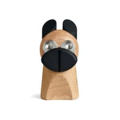 Hund fra fyrtøjet stål