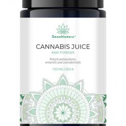 SanaNordic Cannabis Juice pulver