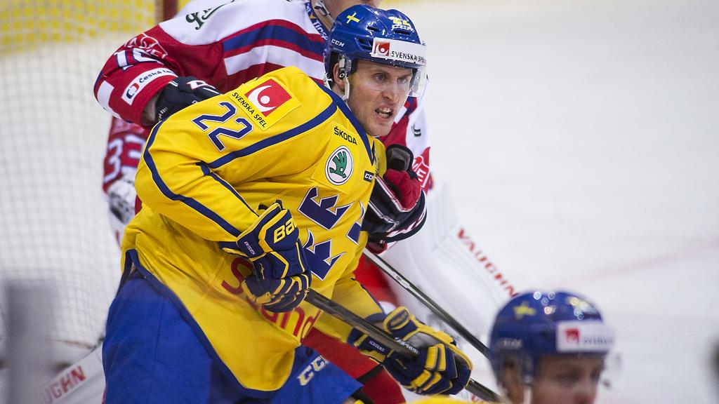 Alexander Bergström i Tre Kronor