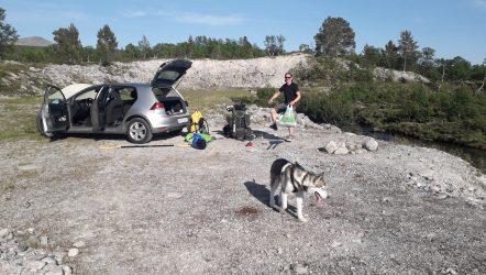 Med badering i Sølna – dag 1