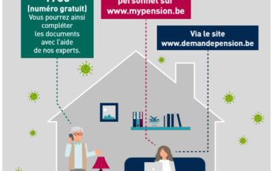 Comment demander une pension ou une GRAPA en cette période de confinement ?