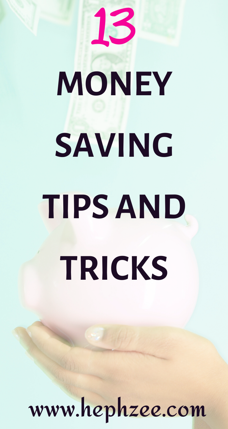 13 ways to save money and reduce household expenses