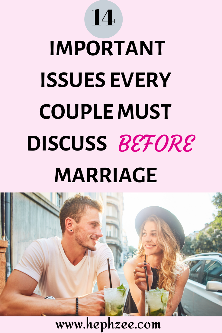 issues every couple needs to discuss about for a lasting relationship
