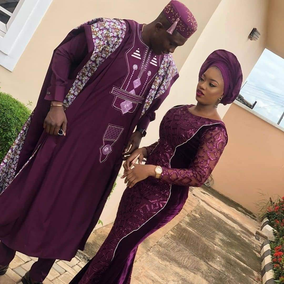 Aso-ebi styles for couples