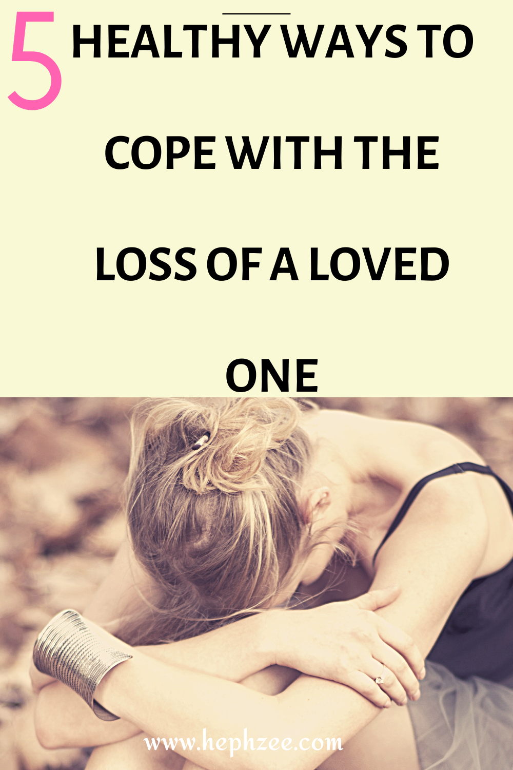 Healthy ways to deal with grief