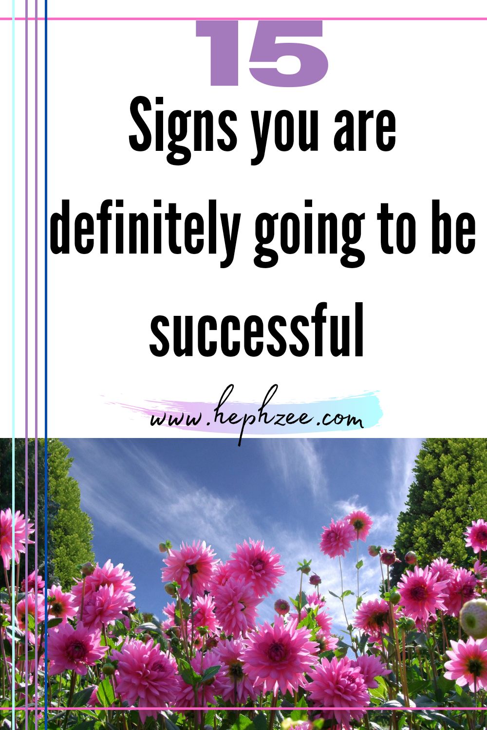 Signs you are going to be successful