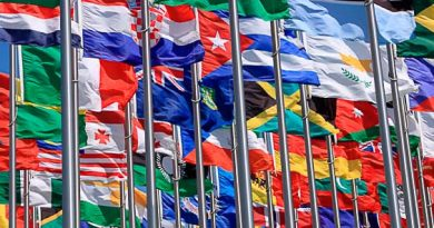 flags of a global world