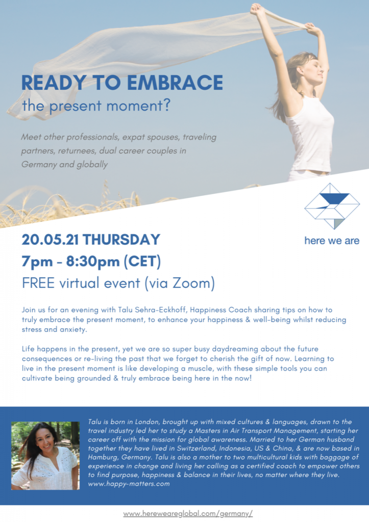 Ready to embrace workshop poster