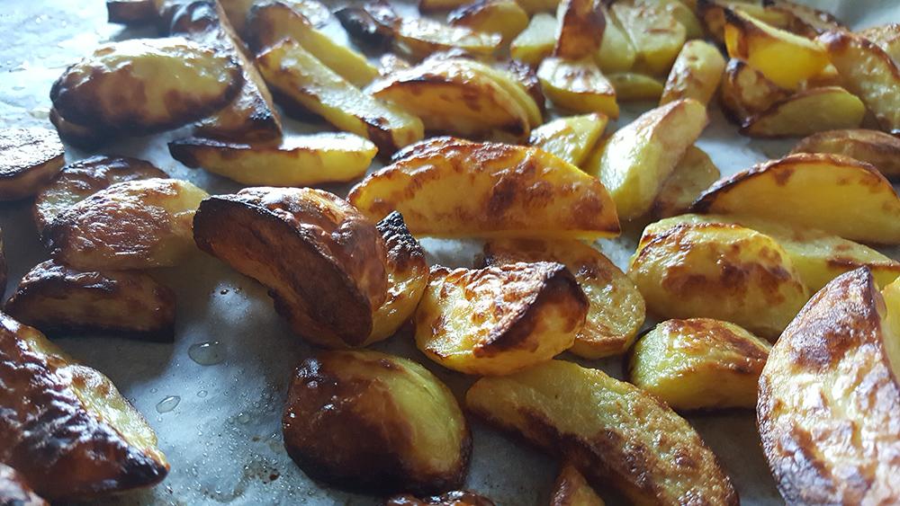 oksesteg kartofler