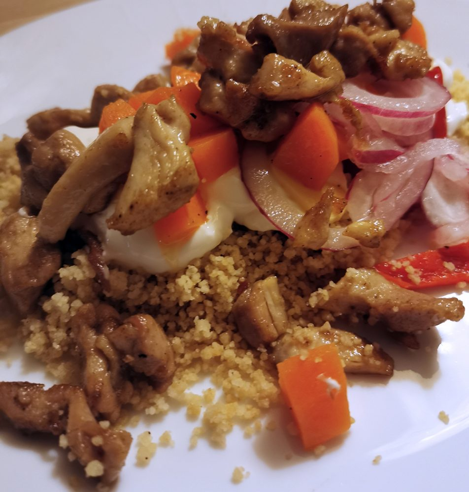 Kylling og Couscous salat