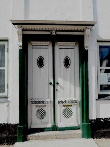 Døren i Ruth´s hus