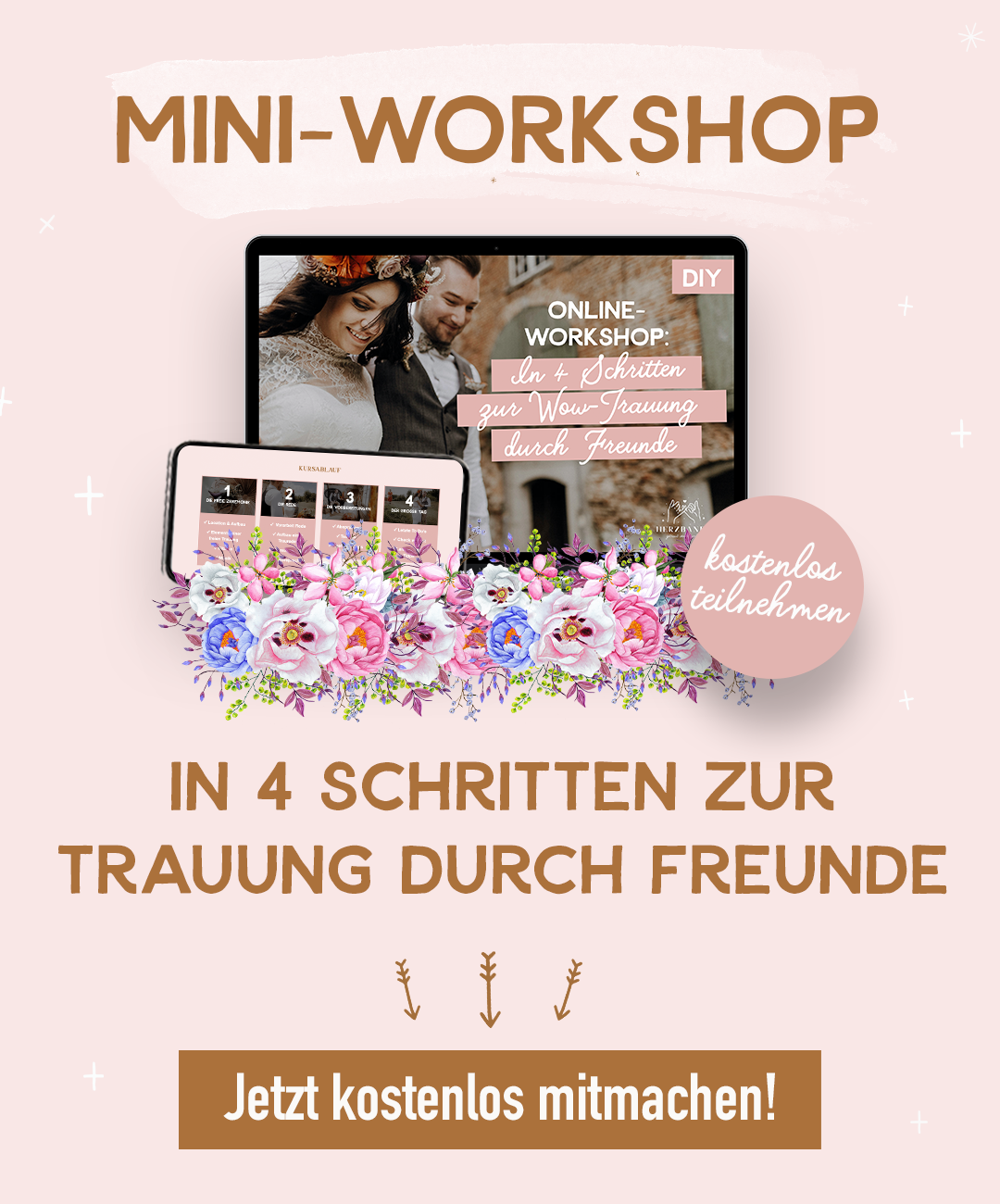 Mini-Workshop feie Trauung