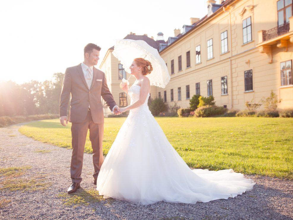 Hochzeit von Nadine & Christian - Schloss Eckartsau