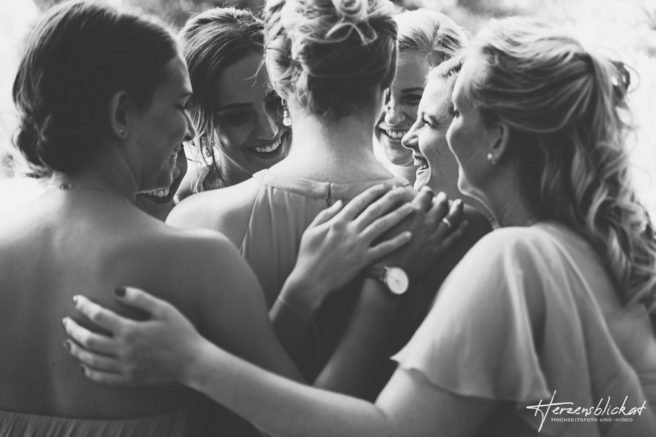 Brautjungfern Fotoshooting