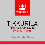 Temaclad SC 50 TVT0202- Svart 10L