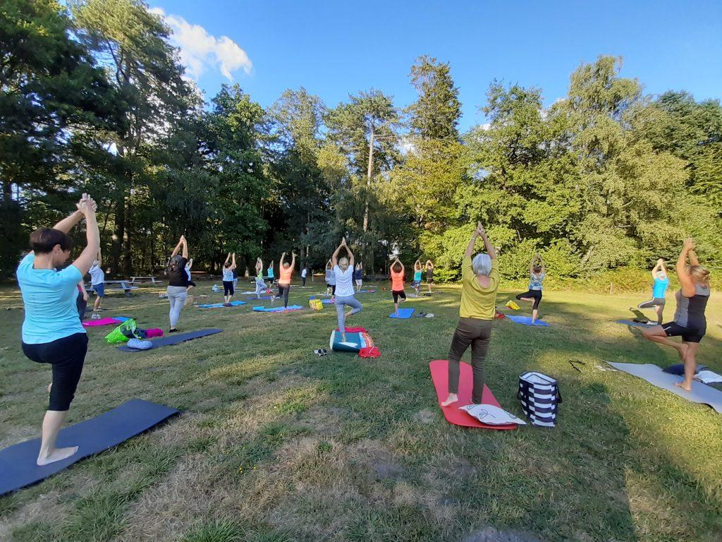 Faalangst, Yoga