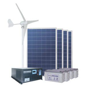 SUNWINDS Sol & Vind system 2kW