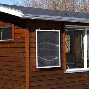 Luftsolfångare- solarventillation