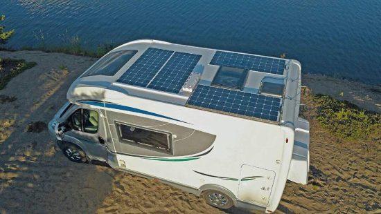 Solpaneler till husbilar och husvagnar
