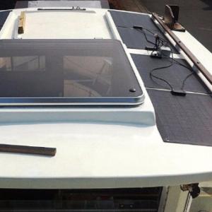 Solpaneler till båtar