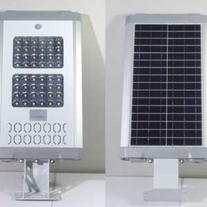 Gatulampor, gårdsbelysning med solceller