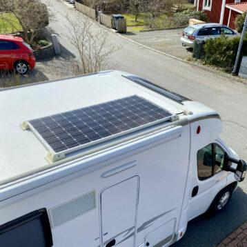 Solpanel till husbilar och husvagnar