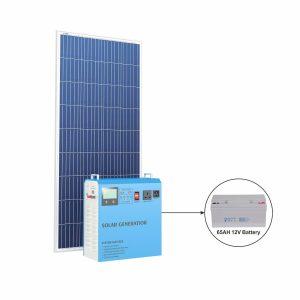 Komplett Solcellsdrivet Elverk 500 Watt
