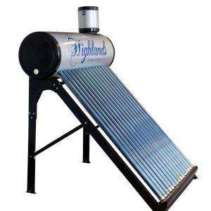 Solfångare 150 L för varmvatten
