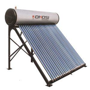 Solfångare 210L för användning året runt.