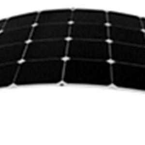 Högeffektiv böjbar solpanel 110 W