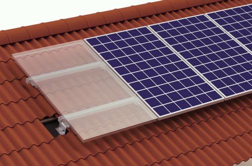 System för montage av solpaneler