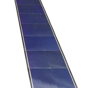 SOLPANEL 74W TUNN ROLLBAR FLEXIBLE