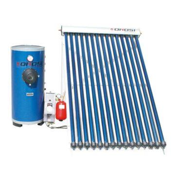 Solfångare för varmvattenproduktion 1000L