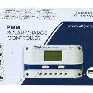 Laddningsregulator för solpaneler 20 A